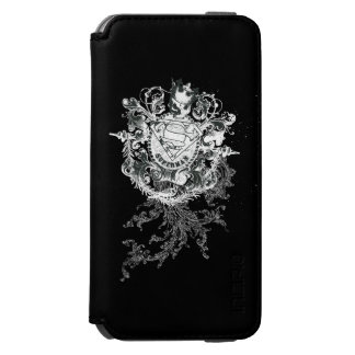 Superman Stylized | Tan Heart Logo Incipio Watson™ iPhone 6 Wallet Case