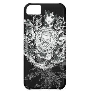 Superman Stylized | Tan Heart Logo iPhone 5C Case