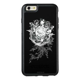 Superman Stylized | Tan Heart Logo OtterBox iPhone 6/6s Plus Case