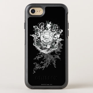 Superman Stylized | Tan Heart Logo OtterBox Symmetry iPhone 8/7 Case