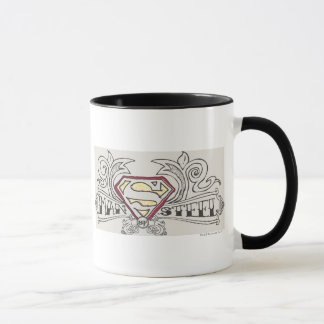 Superman Stylized | Texture Logo Mug