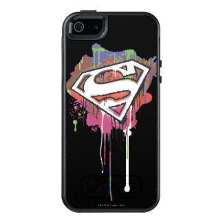Superman Stylized | Twisted Innocence Logo 2 OtterBox iPhone 5/5s/SE Case