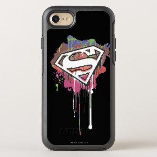 Superman Stylized | Twisted Innocence Logo 2 OtterBox Symmetry iPhone 8/7 Case