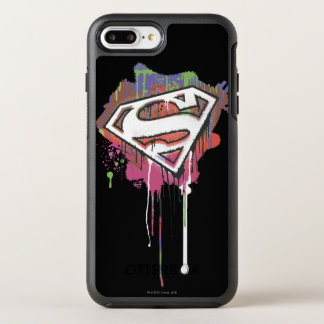 Superman Stylized | Twisted Innocence Logo 2 OtterBox Symmetry iPhone 8 Plus/7 Plus Case