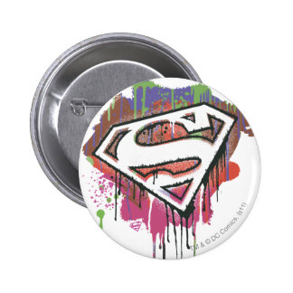 Superman Stylized | Twisted Innocence Logo 6 Cm Round Badge