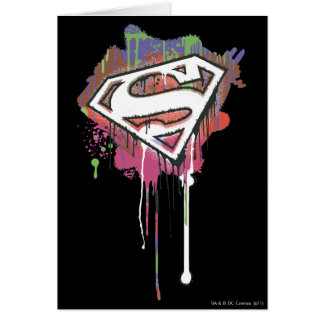Superman Stylized | Twisted Innocence Logo Card