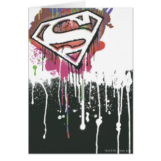 Superman Stylized | Twisted Innocence Logo Greeting Card