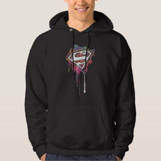 Superman Stylized | Twisted Innocence Logo Hoodie