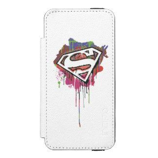 Superman Stylized | Twisted Innocence Logo Incipio Watson™ iPhone 5 Wallet Case