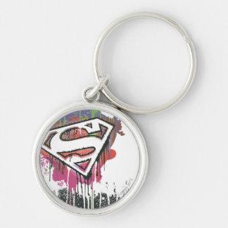 Superman Stylized | Twisted Innocence Logo Key Ring