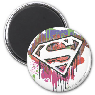 Superman Stylized | Twisted Innocence Logo Magnet