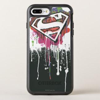 Superman Stylized | Twisted Innocence Logo OtterBox Symmetry iPhone 7 Plus Case