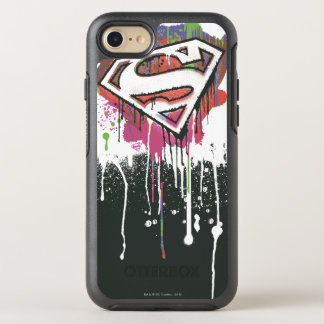 Superman Stylized | Twisted Innocence Logo OtterBox Symmetry iPhone 8/7 Case