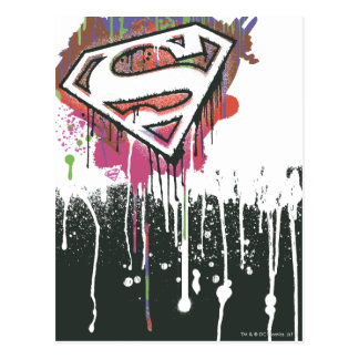 Superman Stylized | Twisted Innocence Logo Postcard