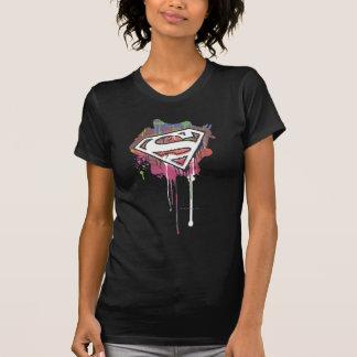 Superman Stylized   Twisted Innocence Logo T-Shirt