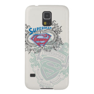 Superman Stylized | Two Crest Design Logo Galaxy S5 Cases