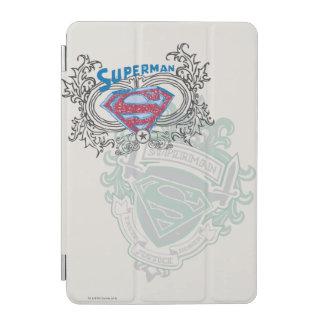 Superman Stylized | Two Crest Design Logo iPad Mini Cover
