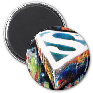 Superman Stylized | Urban Graffiti Logo Magnet