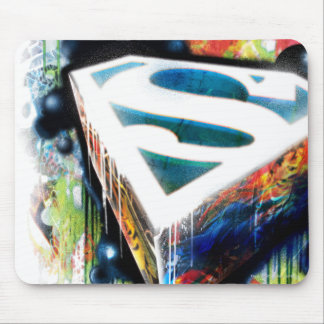 Superman Stylized | Urban Graffiti Logo Mouse Mat