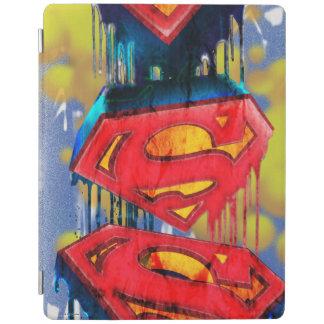 Superman Stylized   Urban Spraypaint Logo iPad Cover