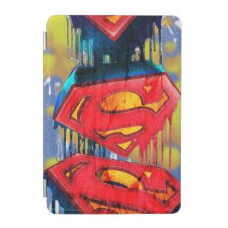 Superman Stylized | Urban Spraypaint Logo iPad Mini Cover