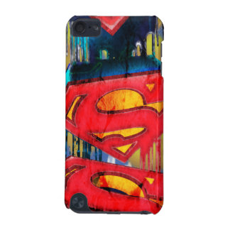 Superman Stylized | Urban Spraypaint Logo iPod Touch 5G Case