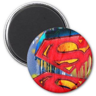 Superman Stylized | Urban Spraypaint Logo Magnet