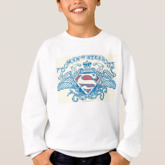 Superman Stylized | Wings and Arms Logo Sweatshirt