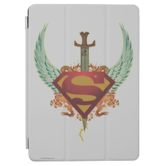 Superman Stylized   Wings Logo iPad Air Cover