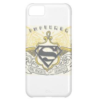 Superman Stylized | Yellow Drawn Trains Logo iPhone 5C Case