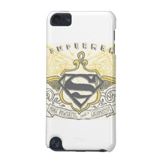 Superman Stylized | Yellow Drawn Trains Logo iPod Touch 5G Cases
