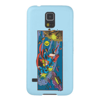 Superman & Supergirl Flying Galaxy S5 Cases