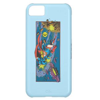 Superman & Supergirl Flying iPhone 5C Case
