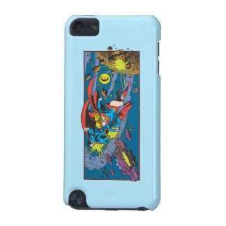 Superman & Supergirl Flying iPod Touch (5th Generation) Covers
