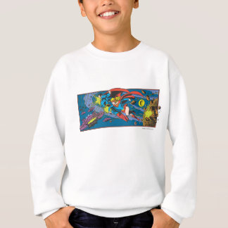 Superman & Supergirl Flying Sweatshirt