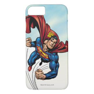Superman swift through the air iPhone 8/7 case