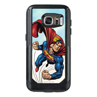 Superman swift through the air OtterBox samsung galaxy s7 case