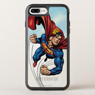Superman swift through the air OtterBox symmetry iPhone 7 plus case