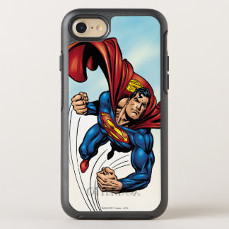 Superman swift through the air OtterBox symmetry iPhone 8/7 case