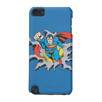 Superman Tears Thru iPod Touch (5th Generation) Case