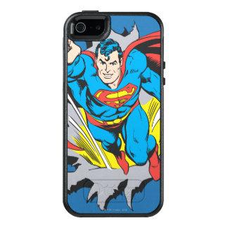 Superman Tears Thru OtterBox iPhone 5/5s/SE Case