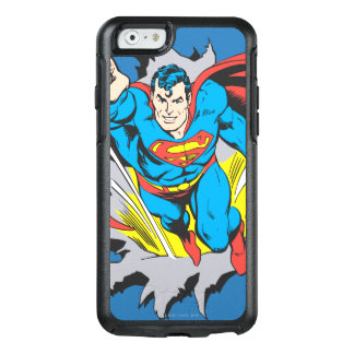 Superman Tears Thru OtterBox iPhone 6/6s Case