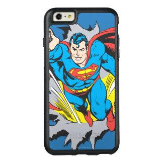 Superman Tears Thru OtterBox iPhone 6/6s Plus Case
