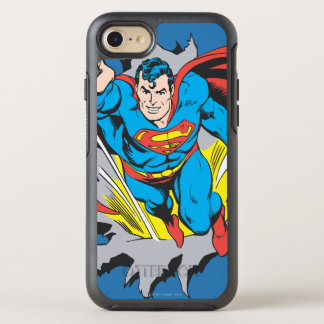 Superman Tears Thru OtterBox Symmetry iPhone 8/7 Case