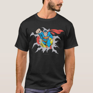 Superman Tears Thru T-Shirt