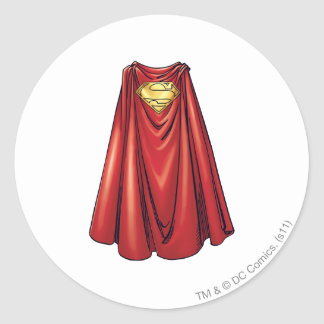 Superman - The Cape Classic Round Sticker