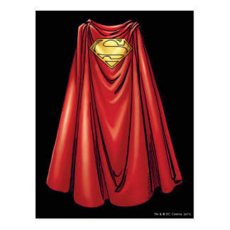 Superman - The Cape Postcard