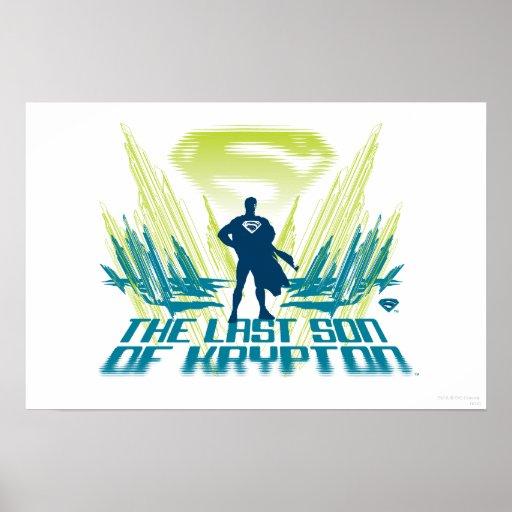 Superman The last Son of Krypton Poster