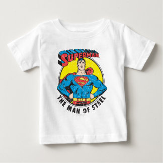 Superman The Man of Steel Baby T-Shirt