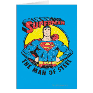 Superman The Man of Steel Card